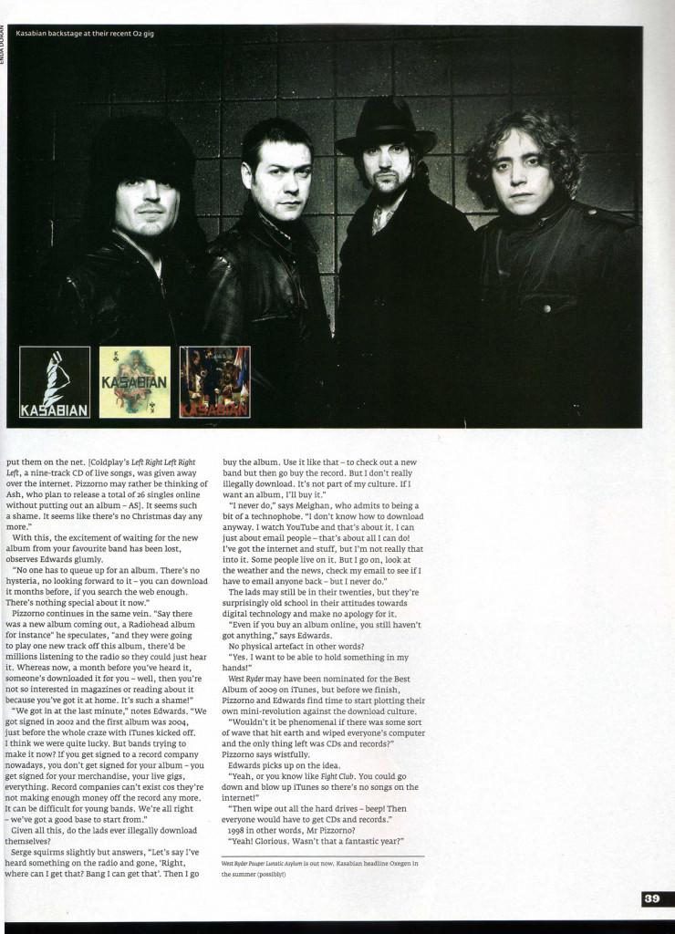 Hot Press - 27 January 2010 p39