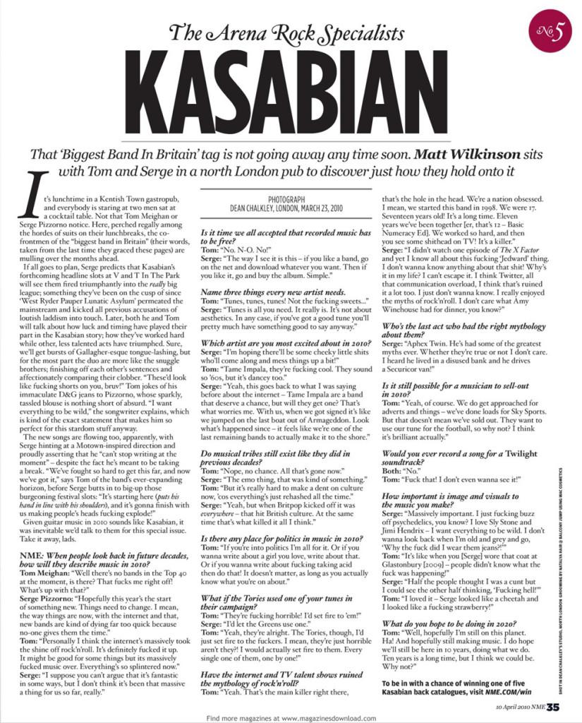 NME - 10 April 2010 p35