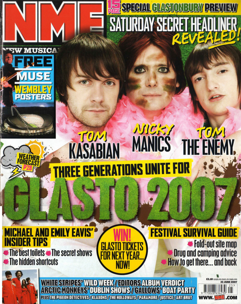 NME - 23 June 2007 Cover