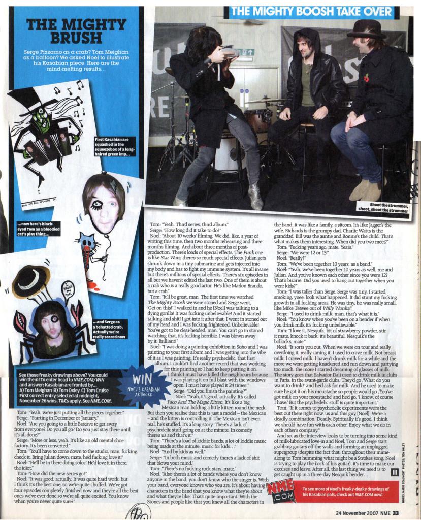 NME - 24 November 2007 p33