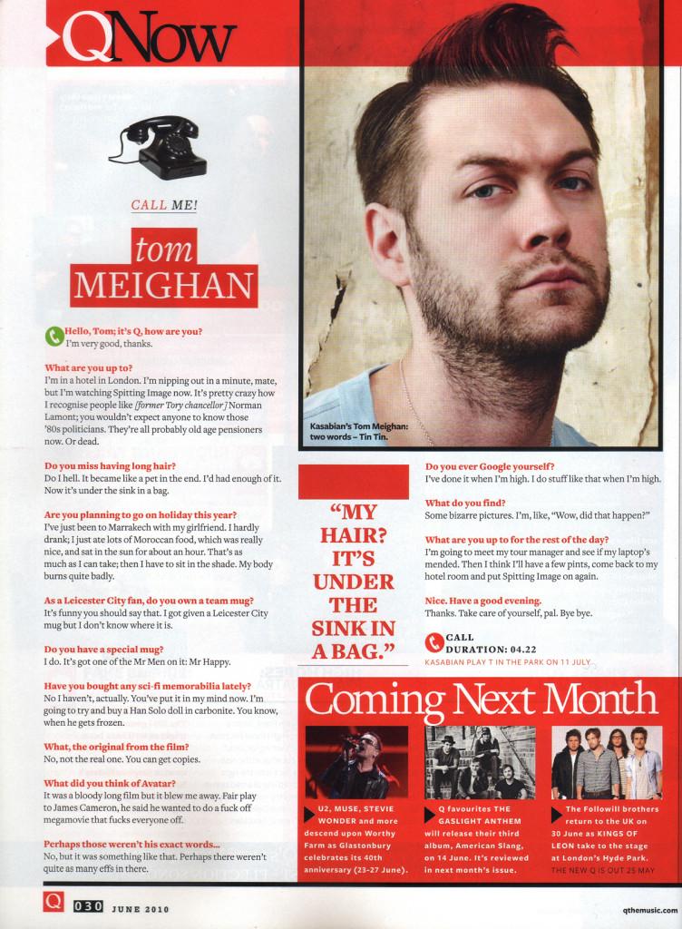 Q Magazine - June 2010 p30
