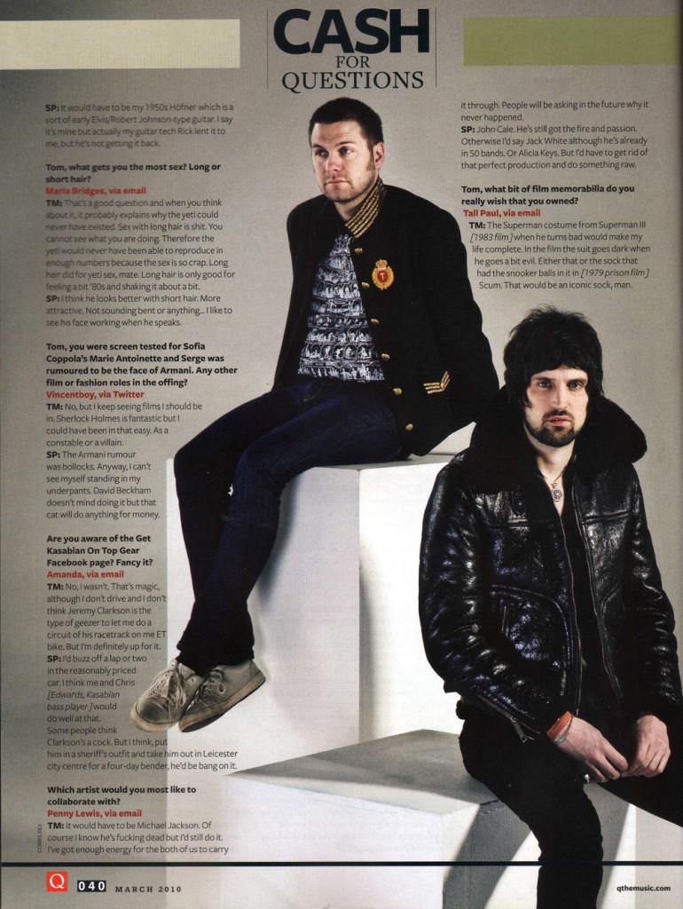 Q Magazine - March 2010 p40