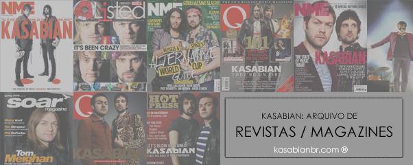 Revistas - Site Kasabian BR
