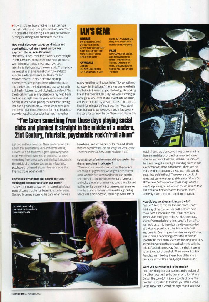 Rhythm - Nov 2009 p42