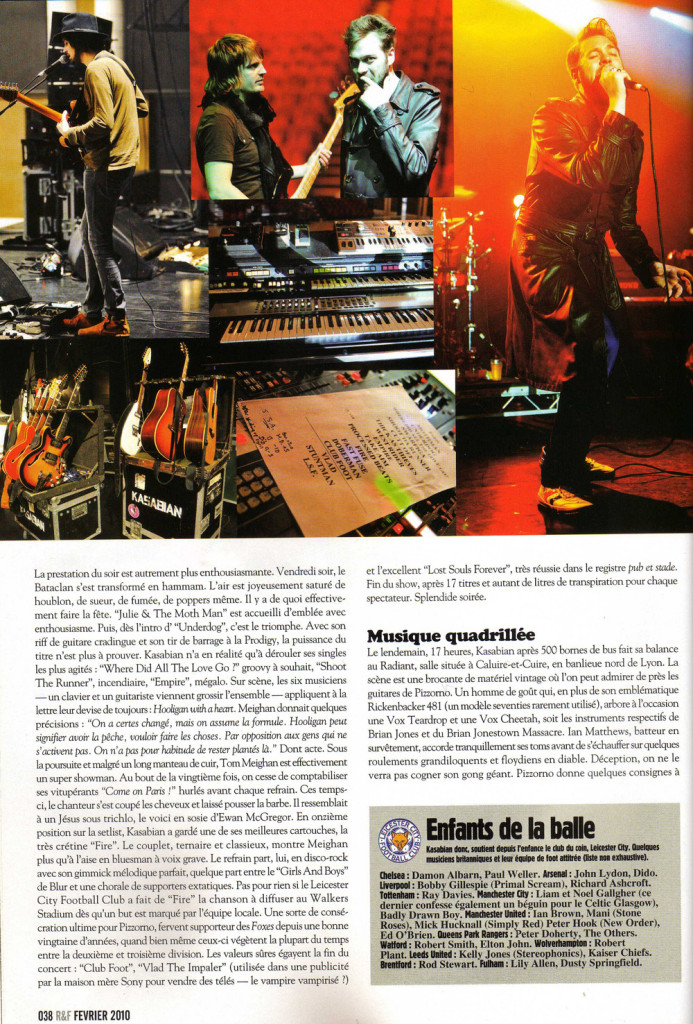 Rock and Folk - February 2010 p38