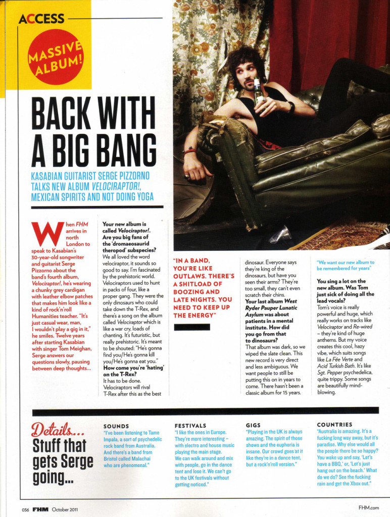 FHM - October 2011 p36