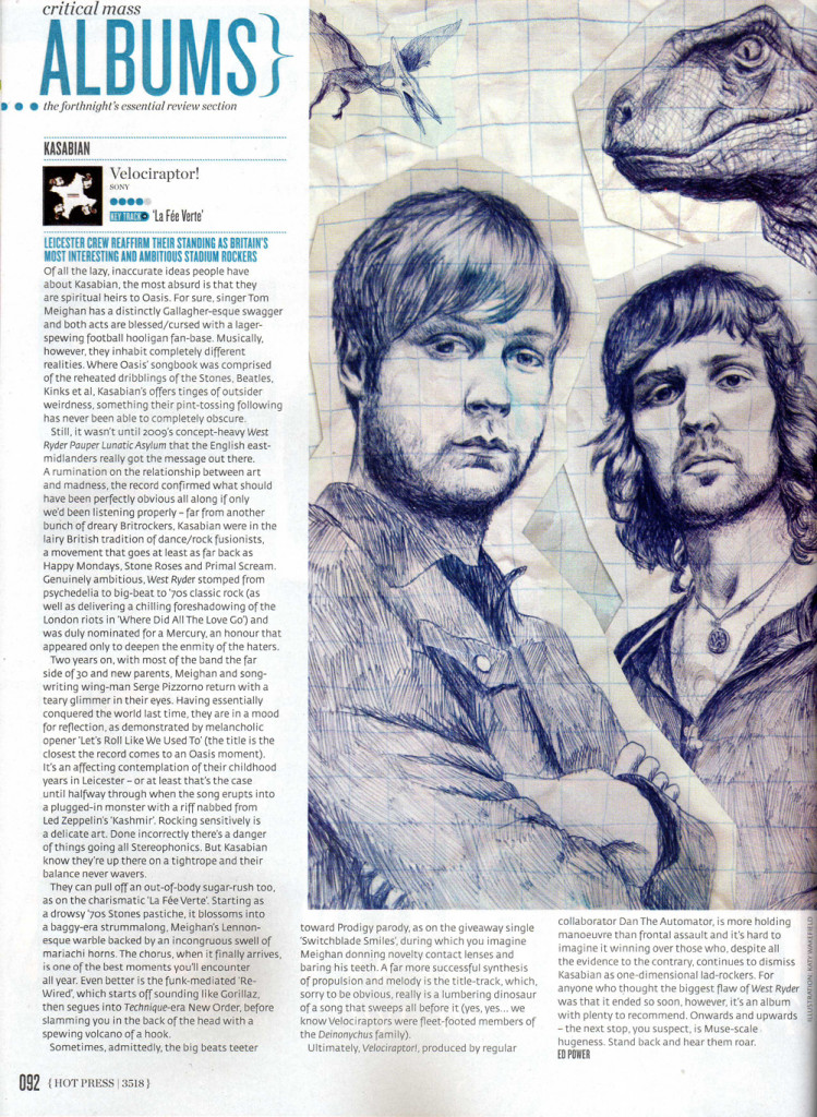 Hot Press - 21 Sept 2011 p92