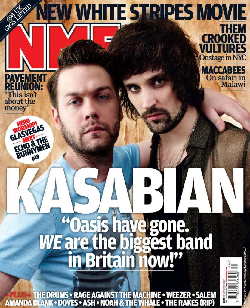 NME - 31 October 2009 Cover