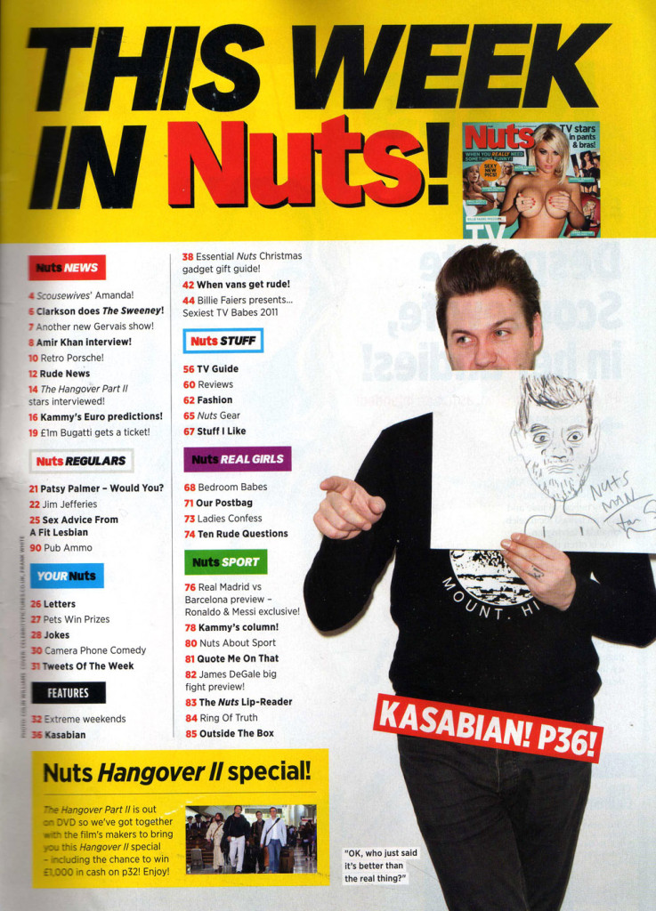 Nuts - 15 December 2011 TOC