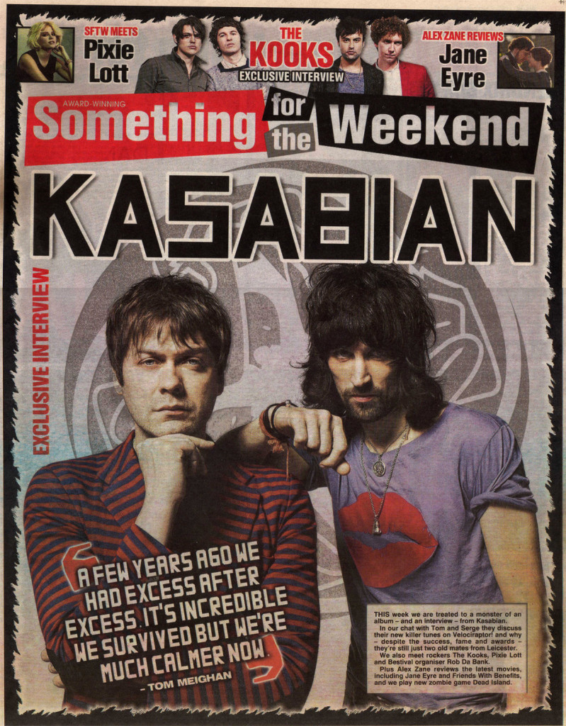 Something for the Weekend - 9 Sept 2011 Cover