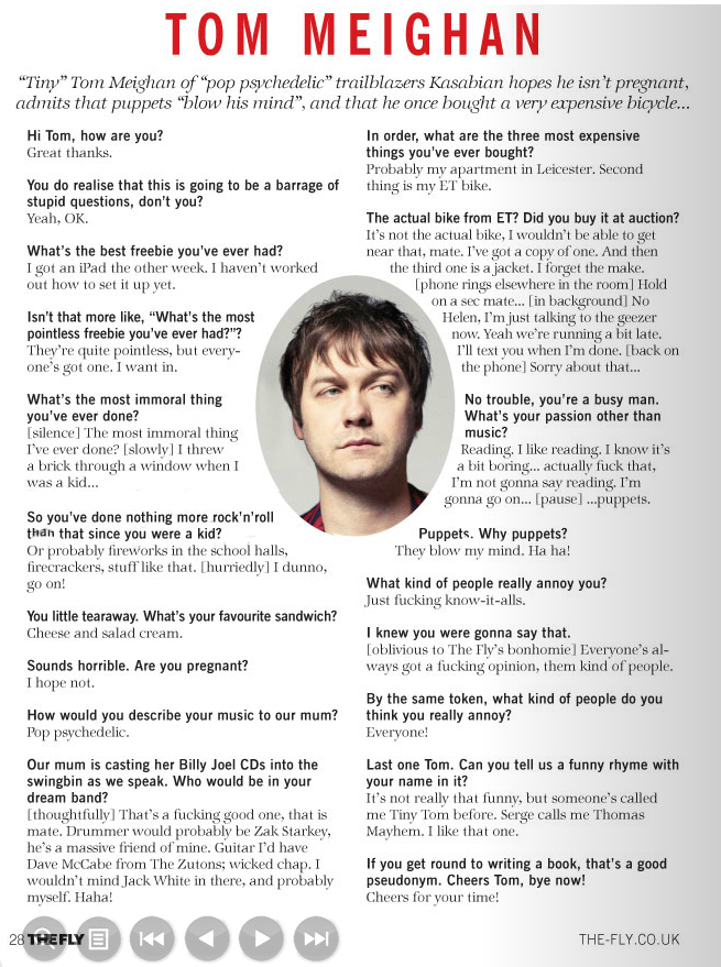 The Fly - Sept 2011 p28