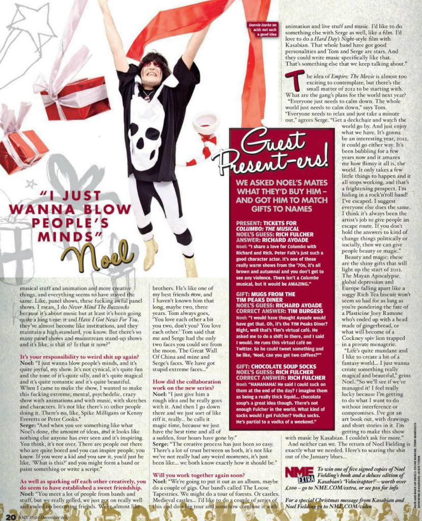 NME - 17 Dec 2011 pg 20