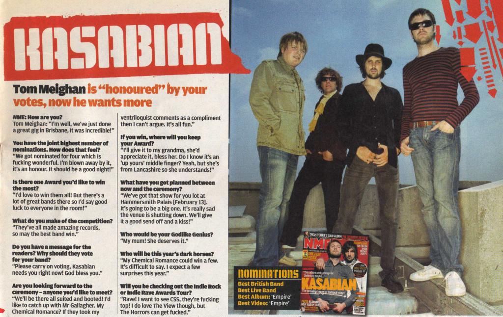 NME - 3 Feb 2007 p7