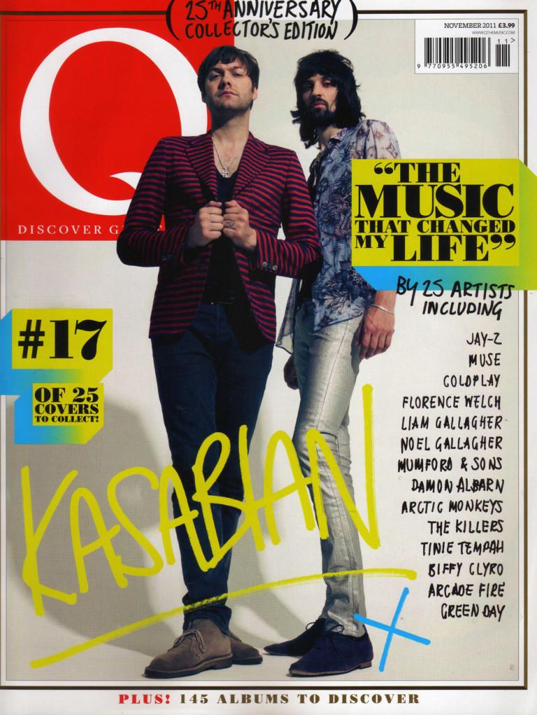 Q Magazine - November 2011 Cover