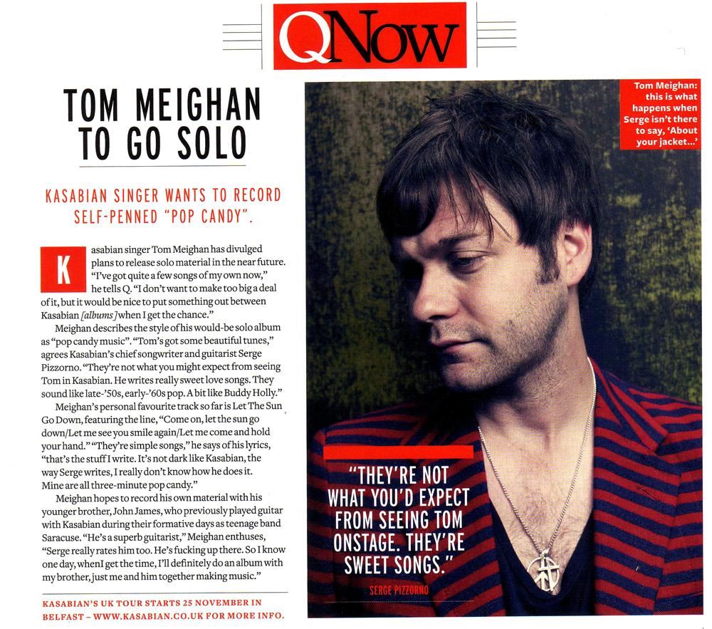 Q Magazine - November 2011 p26