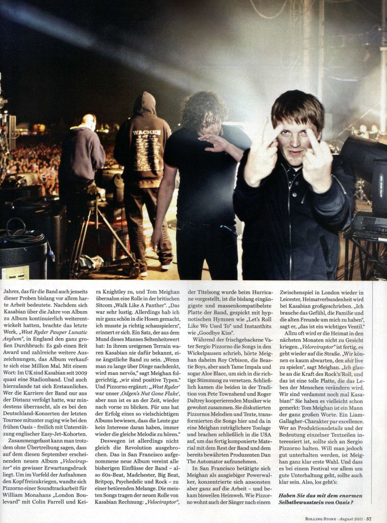 Rolling Stone Germany - August 2011 p57