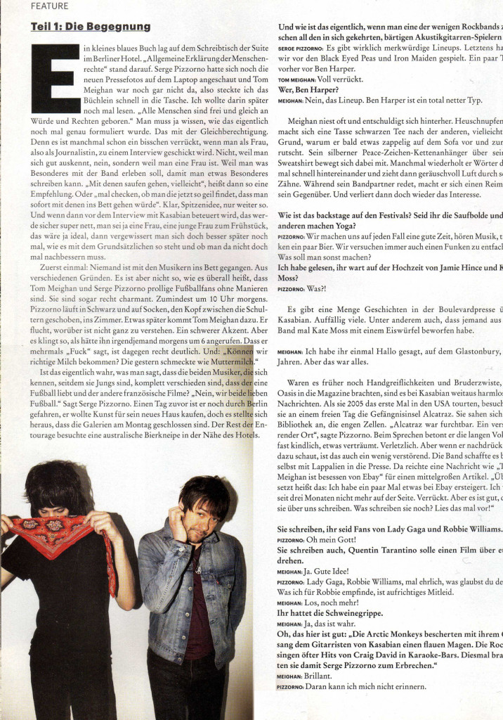 Musikexpress - Sept 2011 p38