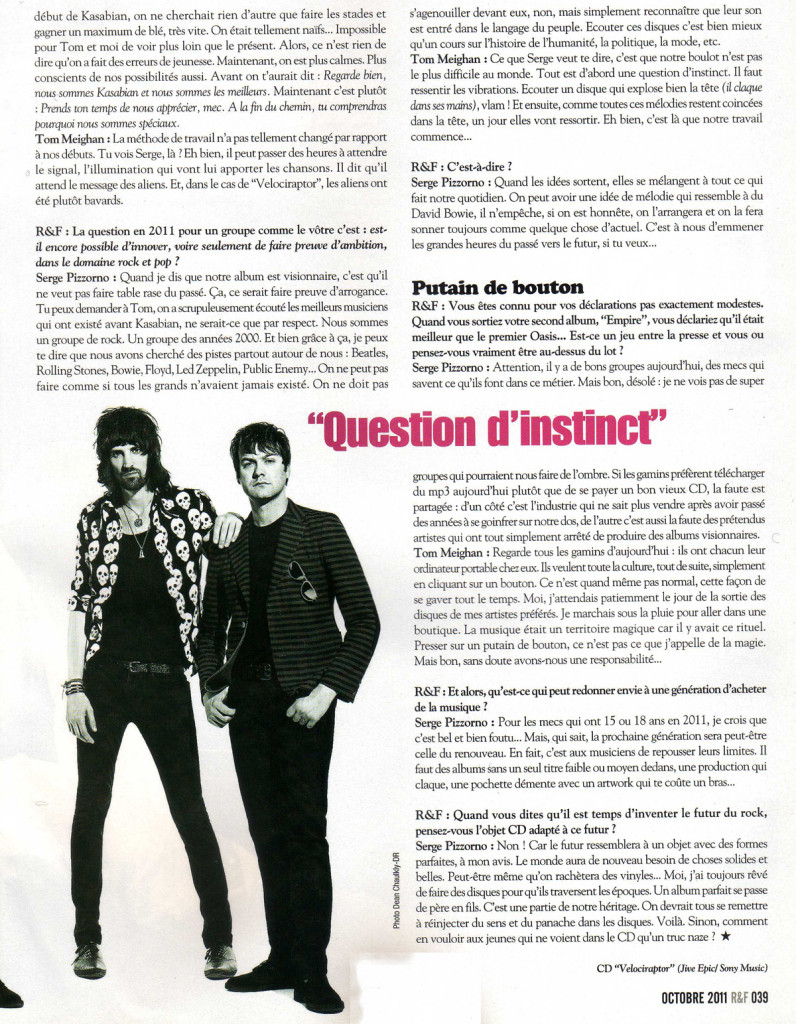 Rock and Folk - October 2011 p39