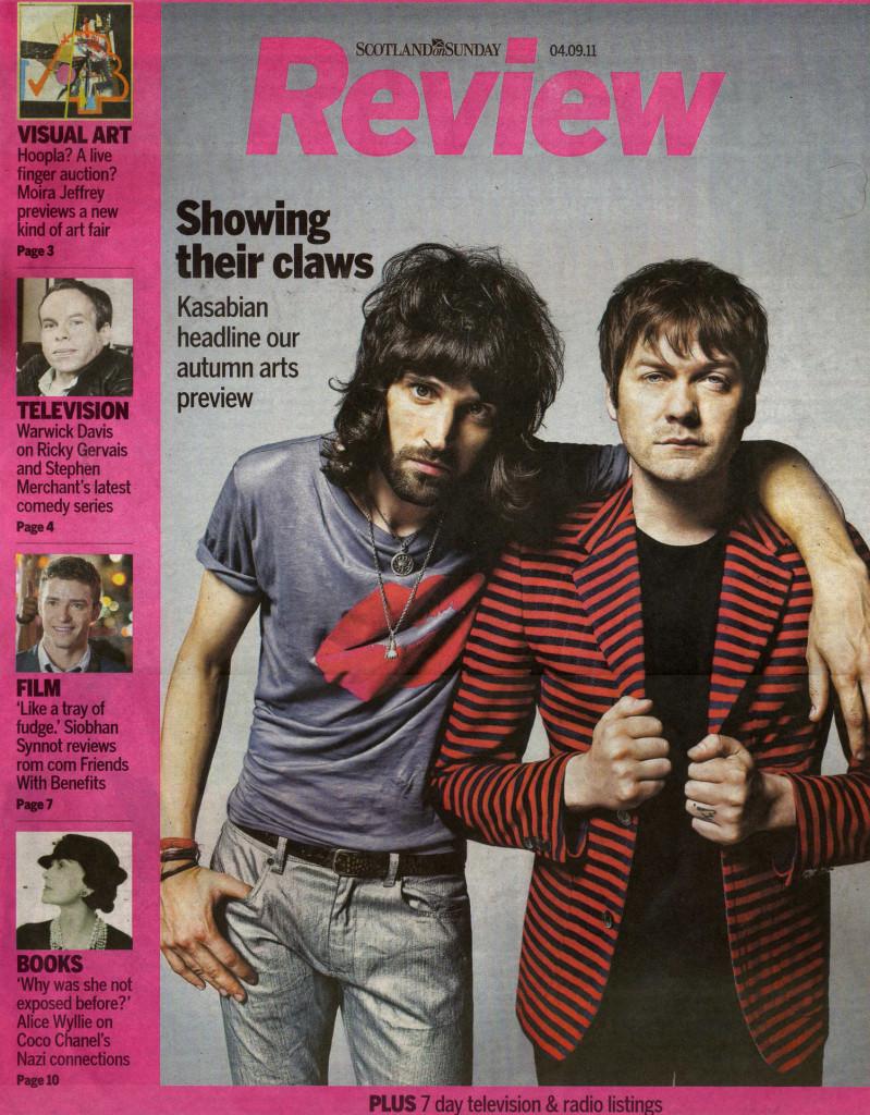 Scotland Sunday - Review 4 Sept 2011 cover