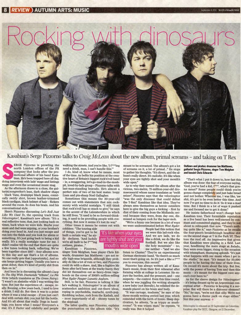 Scotland Sunday - Review 4 Sept 2011 p8