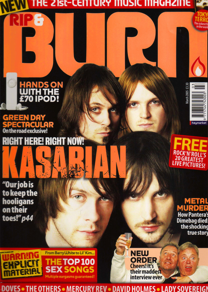 Burn - March 2005 Cover