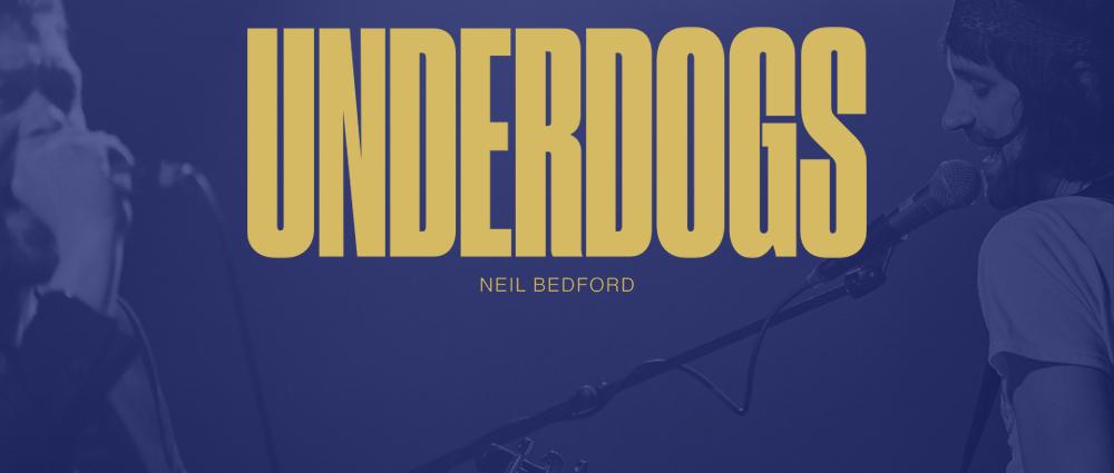 Neil Bedford, fotógrafo oficial do Kasabian, lança livro chamado 'Underdogs'