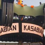 Kasabian supporting: Quando a banda abriu três shows do U2 em 2010
