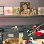 Curiosidade: Os vinis expostos no estúdio The Sergery