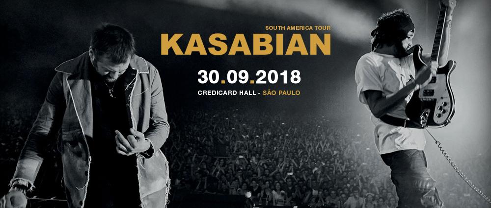 Kasabian no Brasil 2018: São Paulo; informações