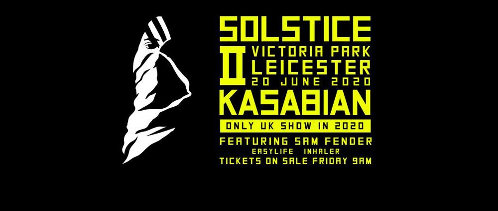 [Agenda] Kasabian Summer Solstice 2020: Anunciado show em Leicester